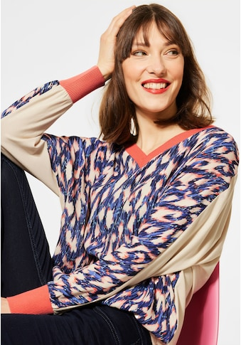 STREET ONE 3/4-Arm-Shirt, mit Multicolour Muster kaufen