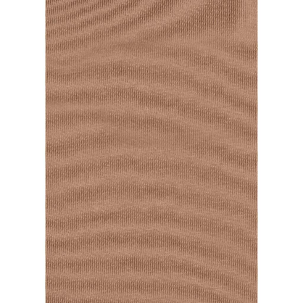 LASCANA Crop-Top, mit innenliegendem Bustier