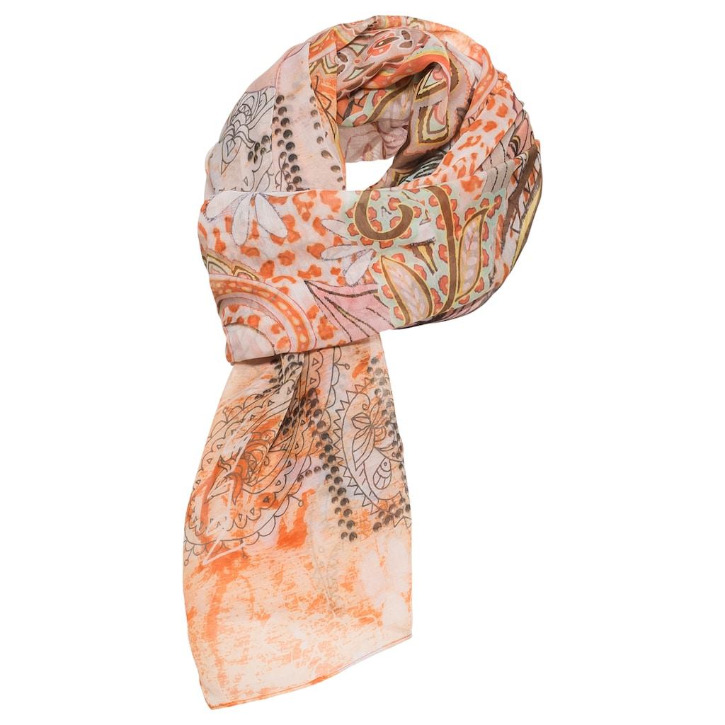bianca Modetuch »SAMOS«, im Paisley-Print mit frischen Farben