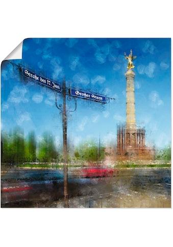 Artland Wandbild »Berlin Siegessäule«, Deutschland, (1 St.), in vielen Größen &... kaufen
