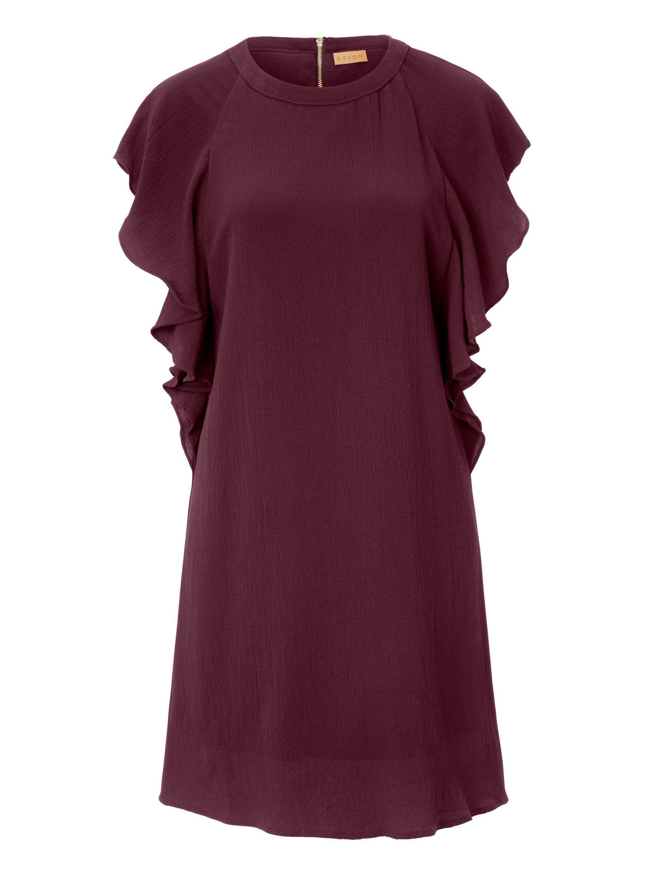 ODEON Kleid mit Volants