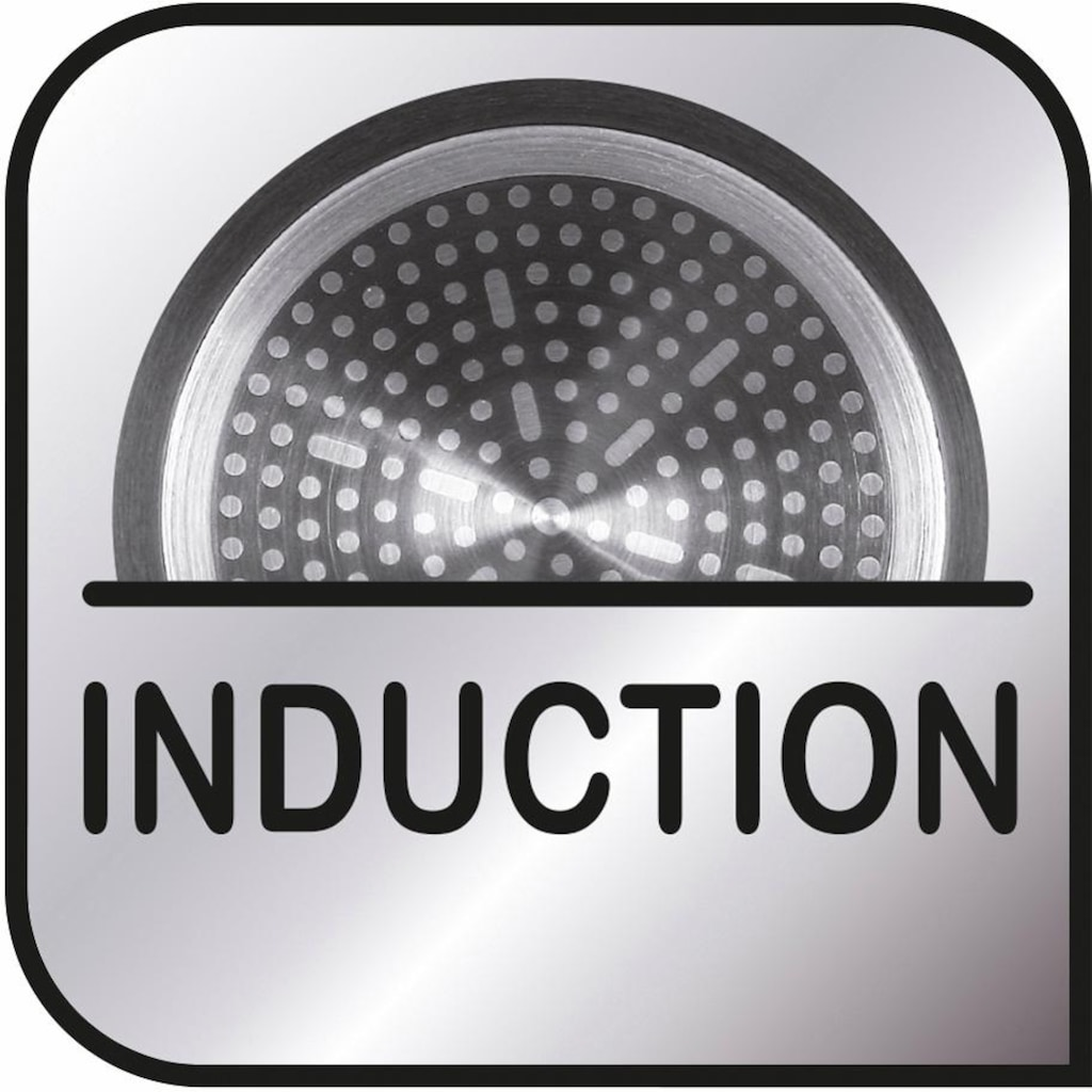 Tefal Wok »Premium Aluguss Induction Wave«, Aluminiumguss, (1 tlg.), Induktion