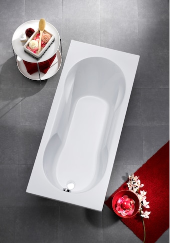 OTTOFOND Badewanne »Julia«, mit Wannenträger und Ablaufgarnitur kaufen