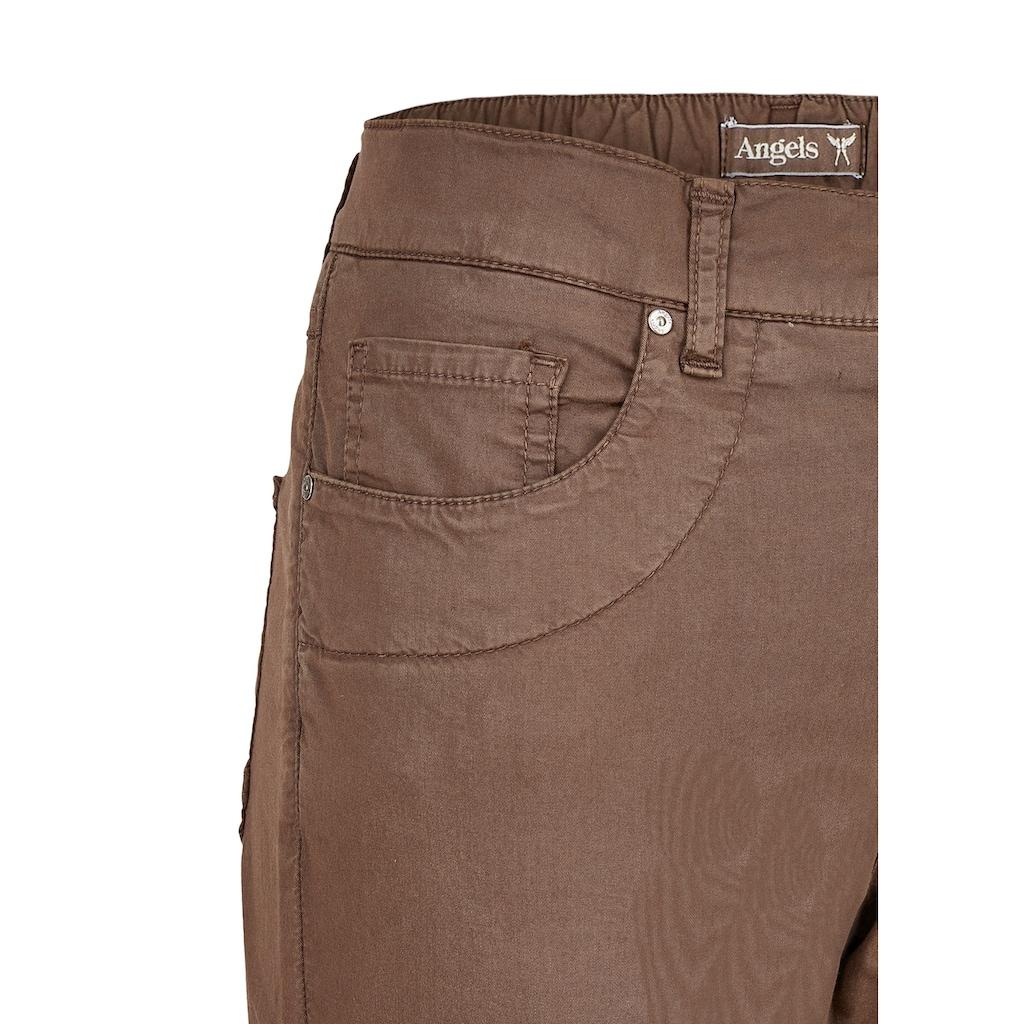 ANGELS Straight-Jeans, aus Coloured Denim