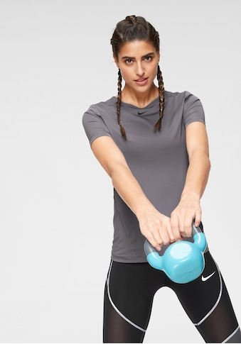 Nike Funktionsshirt »WOMEN NIKE PERFORMANCE TOP SHORTSLEEVE ALL OVER MESH« kaufen