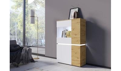 Vitrine »Luci«, Höhe 146 cm kaufen