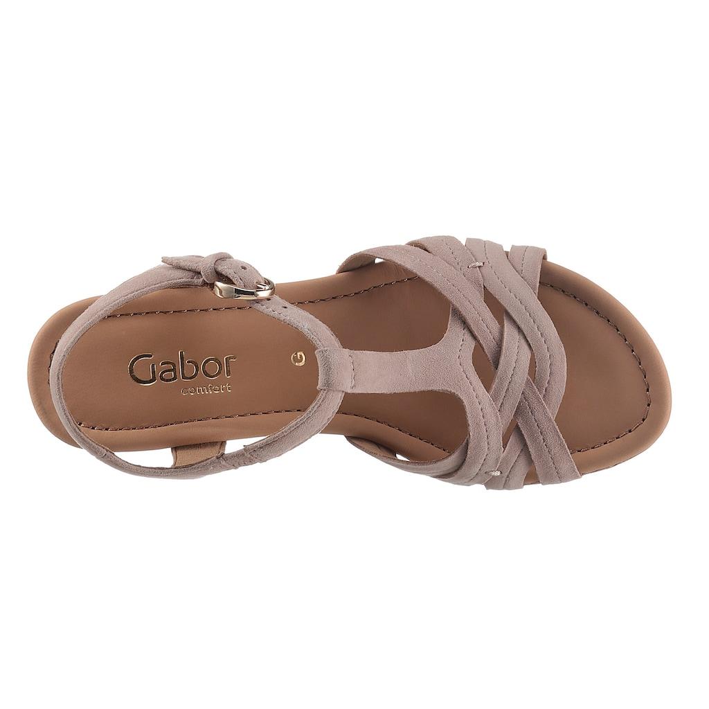 Gabor Sandalette »MILANO«, in Weite G (=weit)