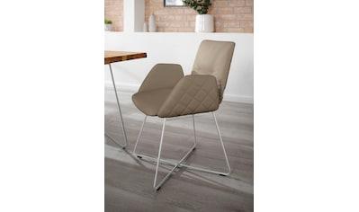 W.SCHILLIG Armlehnstuhl »lotta«, 2er- oder 4er-Set, mit Rücken- & Seitenteilsteppung,... kaufen
