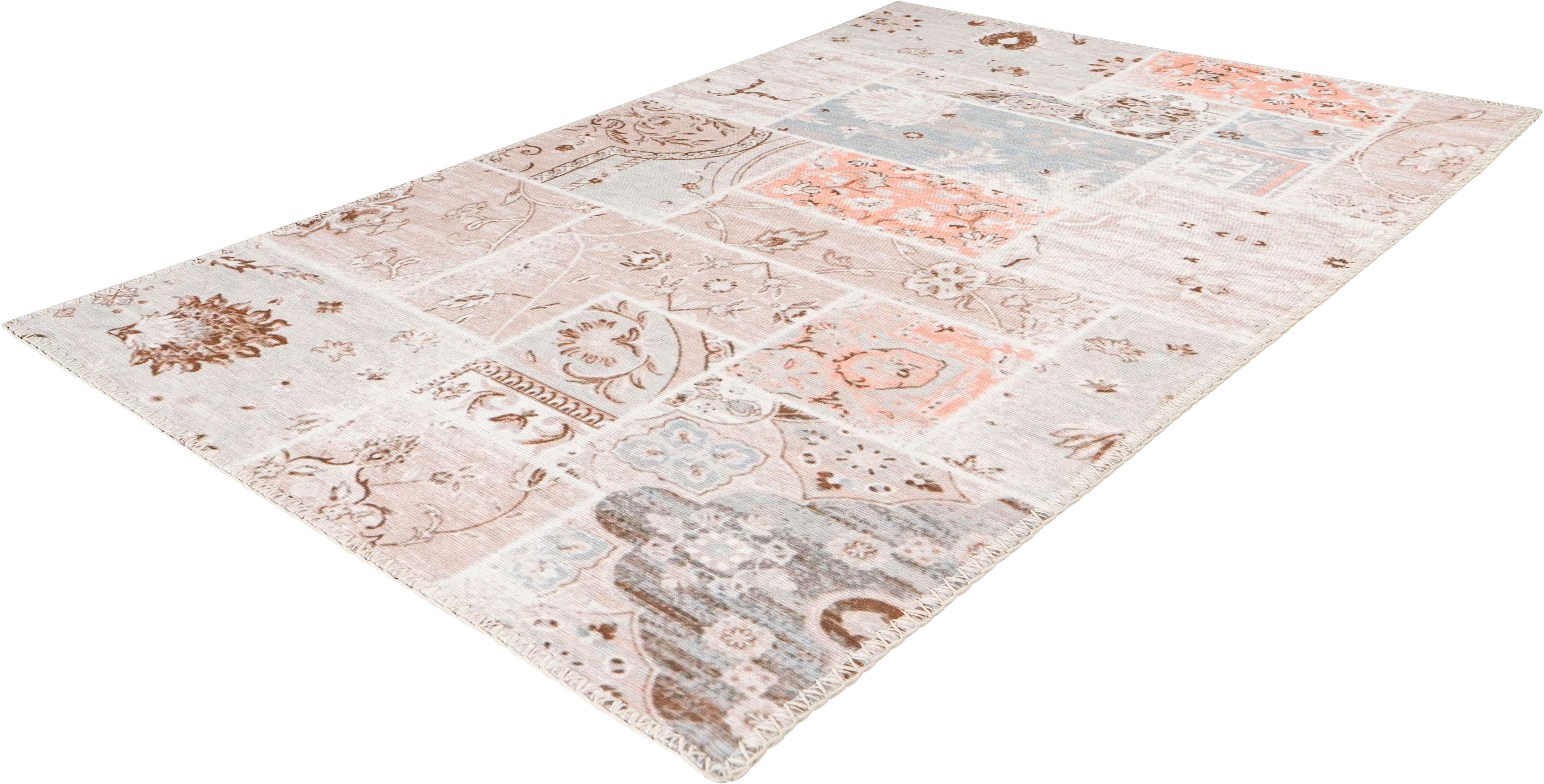 Arte Espina Teppich Peron 200, rechteckig, 5 mm Höhe bunt Esszimmerteppiche Teppiche nach Räumen