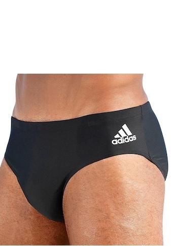 adidas Performance Badehose, in Unifarben mit kleinem Logo kaufen