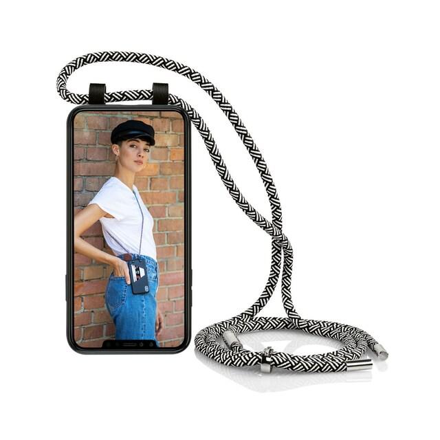 Artwizz Passgenaues TPU-Case zum Umhängen, mit Band »HangOn Case for Galaxy A50 & A30s«