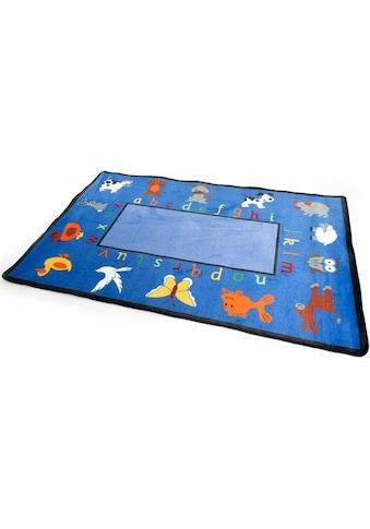Kinderteppich, »BILDER & BUCHSTABEN«, Primaflor - Ideen in Textil, rechteckig, Höhe 5 mm, maschinell getuftet kaufen
