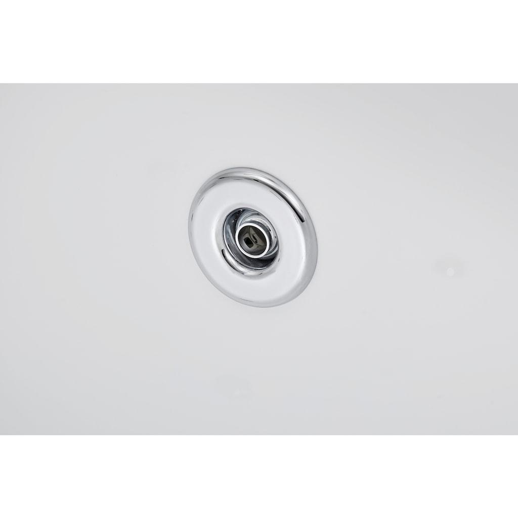 OTTOFOND Whirlpool-Badewanne »Salinas A«, Typ 1, chrom