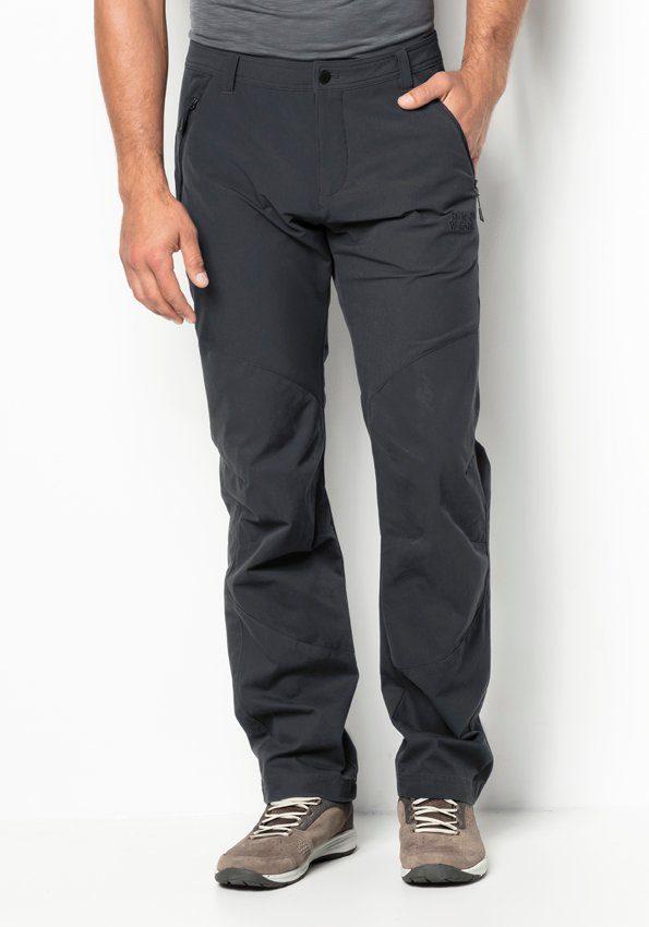 Jack Wolfskin Outdoorhose DRAKE FLEX PANTS MEN | Bekleidung > Hosen > Outdoorhosen | Grau | Jack Wolfskin