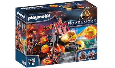 Playmobil® Konstruktions-Spielset »Burnahm Raiders Lavabombarde (70394), Novelmore«,... kaufen
