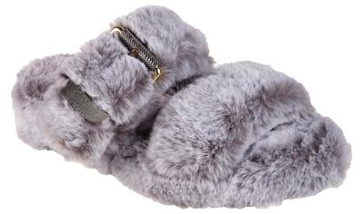 Skechers Pantolette »COZY WEDGE«, in flauschiger Optik kaufen