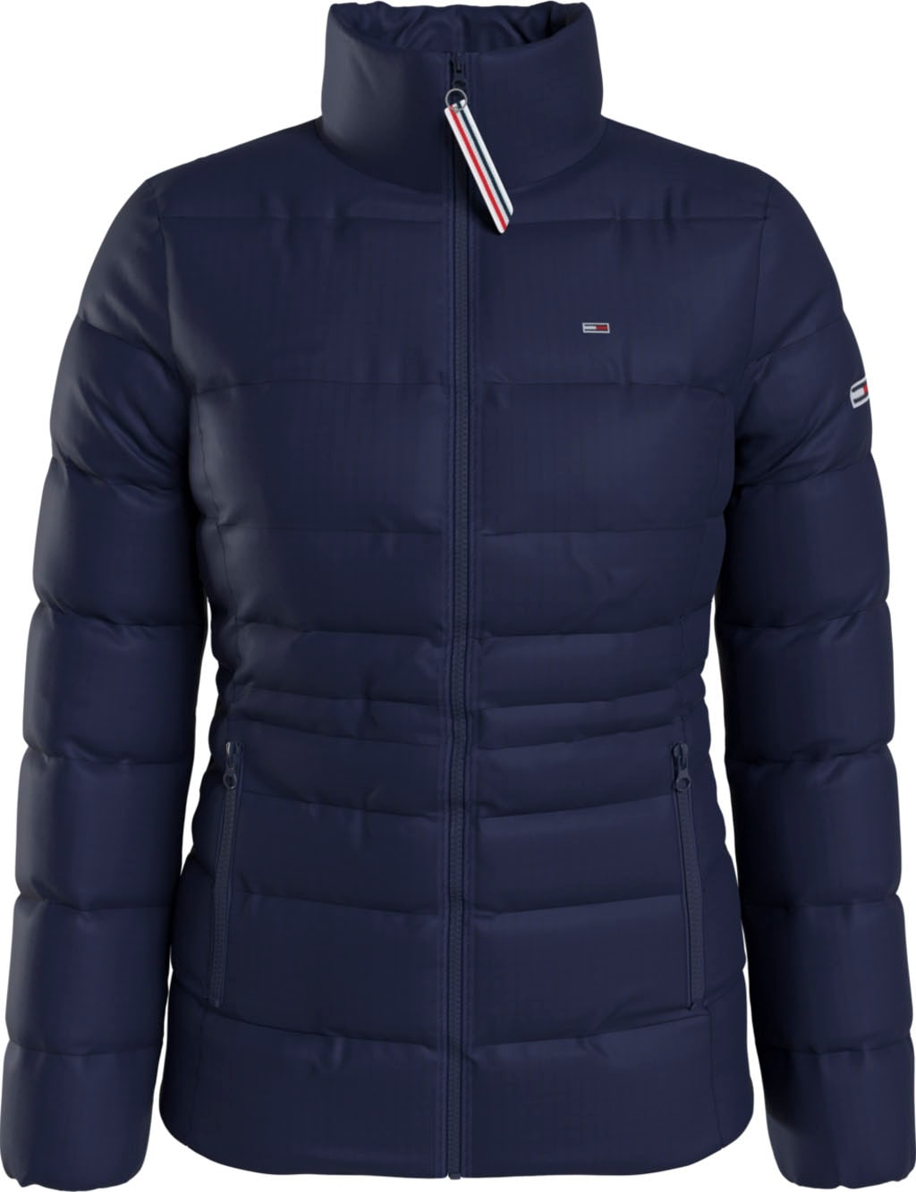 tommy jeans -  Steppjacke TJW Quilted Tape Detail Jacket, mit  Logo-Flag