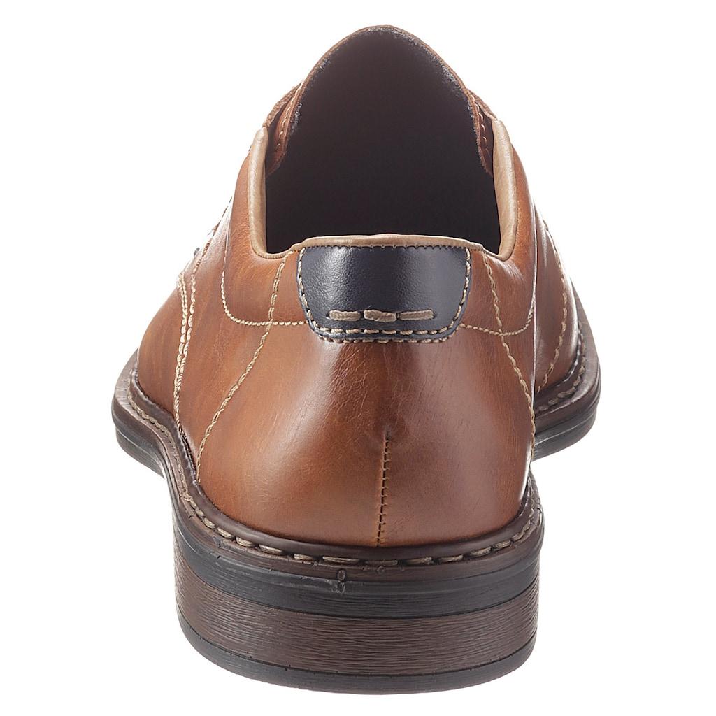 Rieker Schnürschuh, mit flexibler Laufsohle