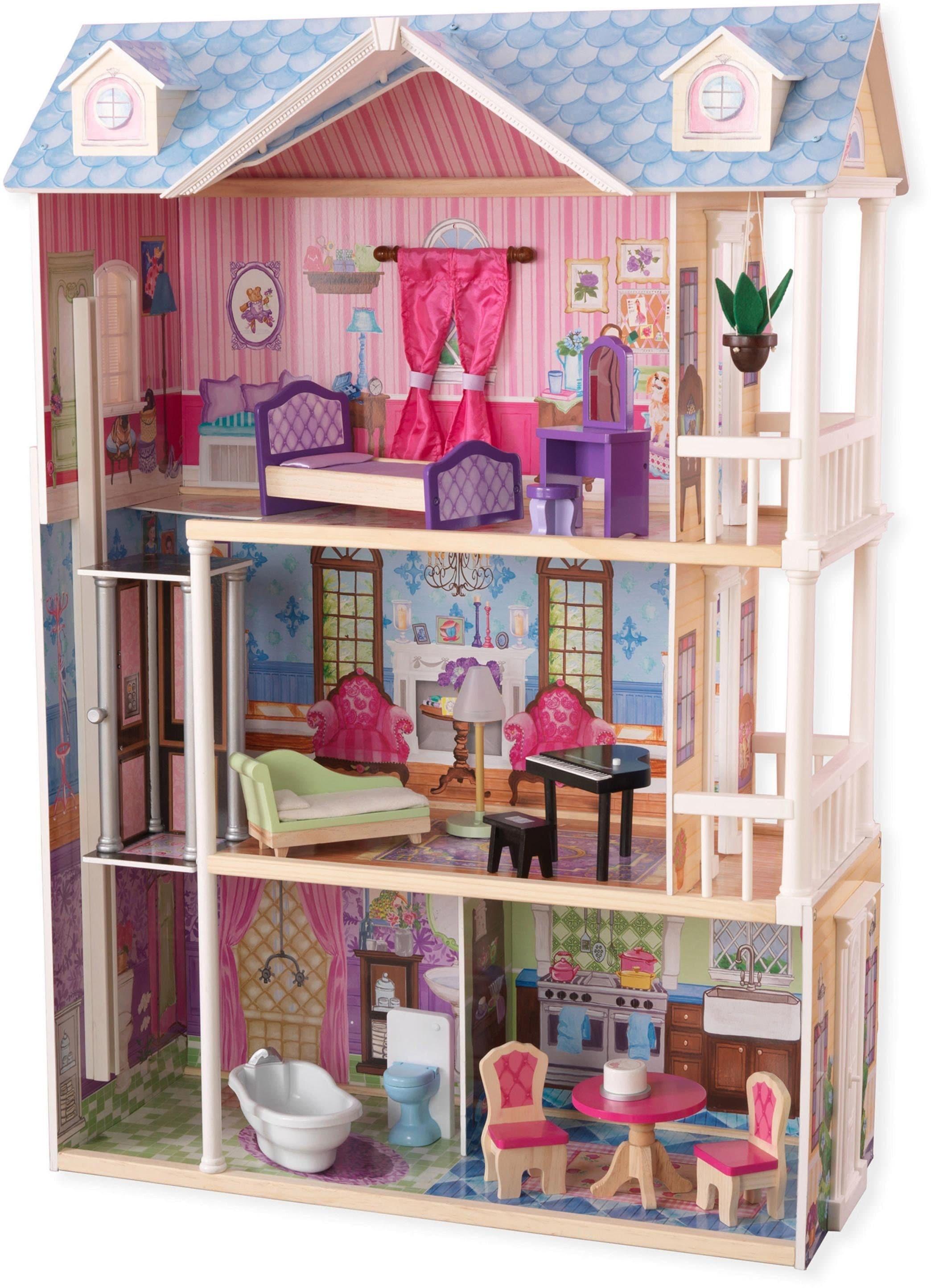 """KidKraft Puppenhaus """"Mein traumhaftes Puppenhaus"""" Technik & Freizeit/Spielzeug/Puppen/Puppenhaus"""