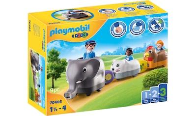 "Playmobil® Konstruktions - Spielset ""Mein Schiebetierzug (70405), Playmobil 1 - 2 - 3"" kaufen"
