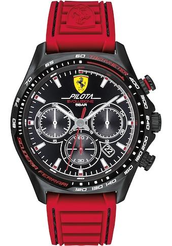 Scuderia Ferrari Chronograph »Pilota Evo, 0830801« kaufen