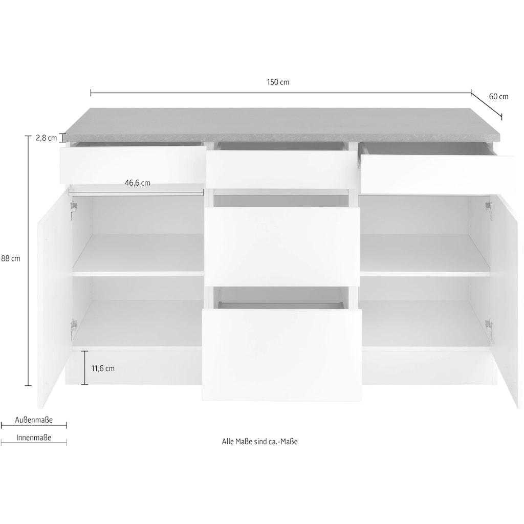 OPTIFIT Unterschrank »Roth«, Breite 150 cm