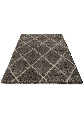 andas Hochflor-Teppich »Hunter«, rechteckig, 40 mm Höhe, dichter, weicher Flor,... kaufen