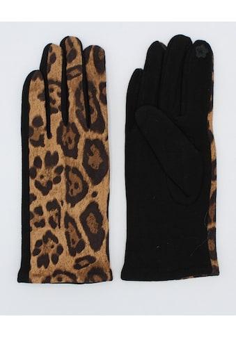 leslii Fleecehandschuhe »Leo Muster«, mit modischem Leopardenmuster kaufen