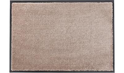 SCHÖNER WOHNEN-Kollektion Fußmatte »Miami Uni WM«, rechteckig, 7 mm Höhe, Fussabstreifer, Fussabtreter, Schmutzfangläufer, Schmutzfangmatte, Schmutzfangteppich, Schmutzmatte, Türmatte, Türvorleger, waschbar kaufen