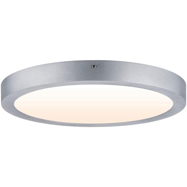 Paulmann,LED Deckenleuchte»Carpo LED Panel Warmdimmfunktion 400 mm Chrom matt 21W Metall«,