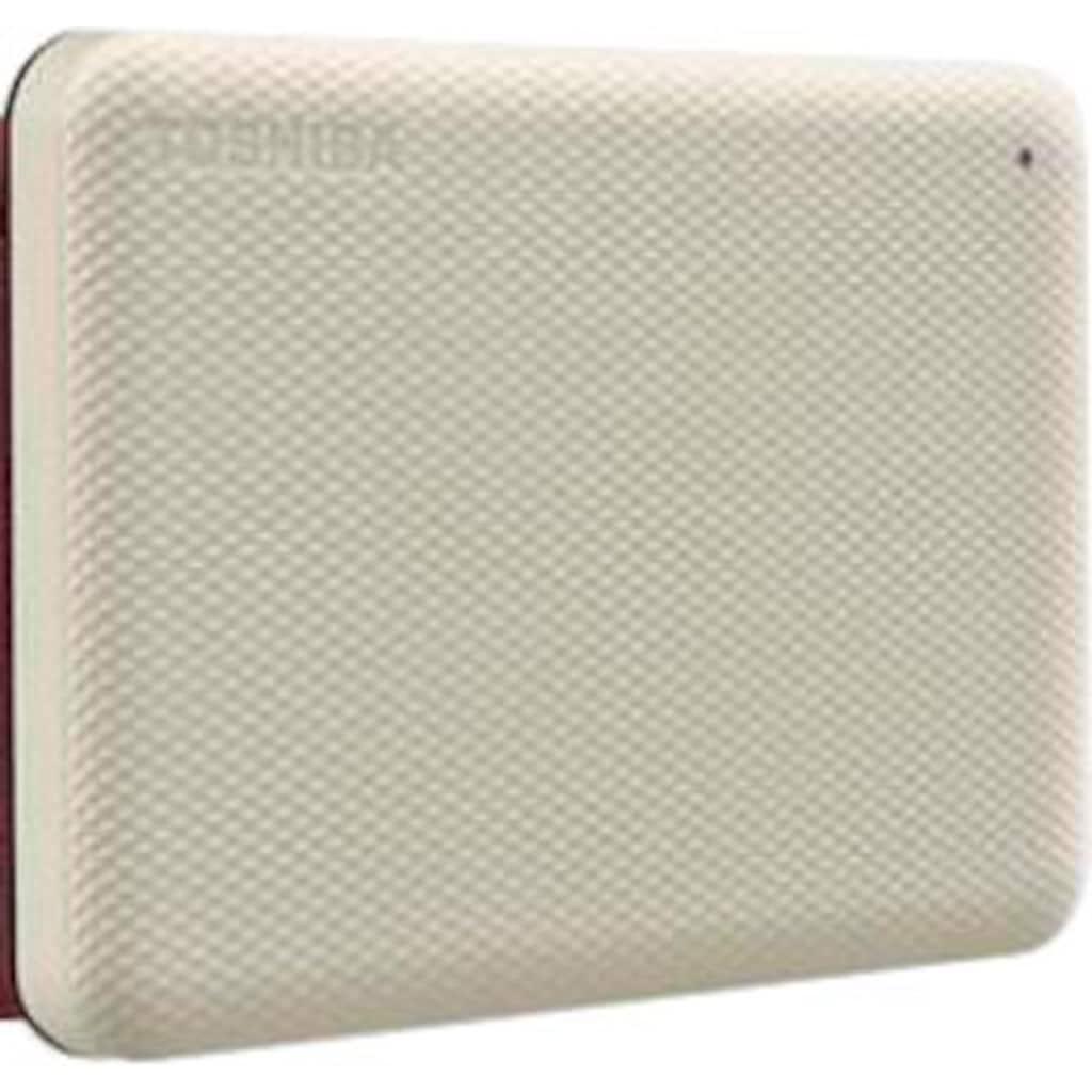 "Toshiba externe HDD-Festplatte »Canvio Advance 2TB White 2020«, 2,5 """