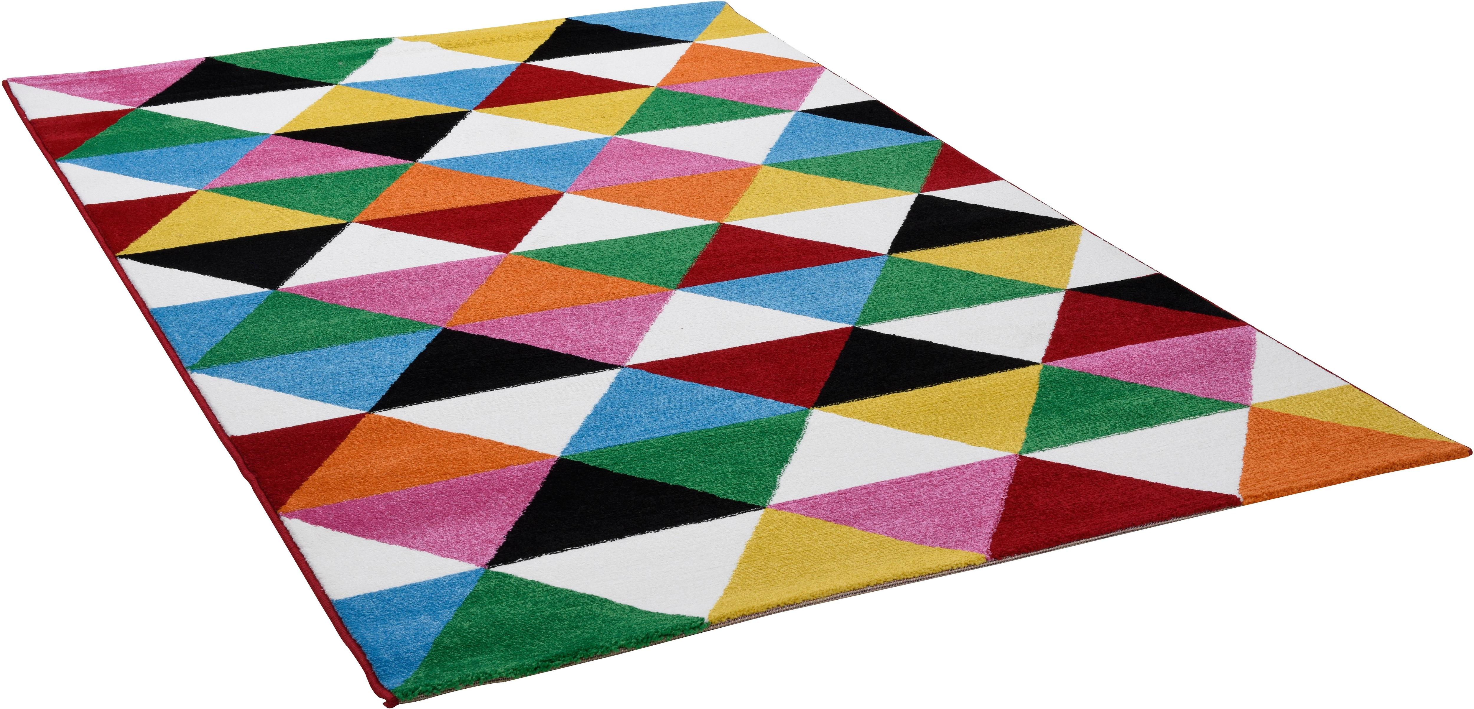 Teppich Monia 25 Gino Falcone rechteckig Höhe 11 mm maschinell gewebt