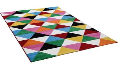 Gino Falcone Teppich »Monia 25«, rechteckig, 11 mm Höhe, Wohnzimmer kaufen