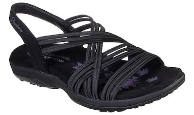 Skechers Sandale »REGGAE SLIM«, mit elastischen Riemchen kaufen