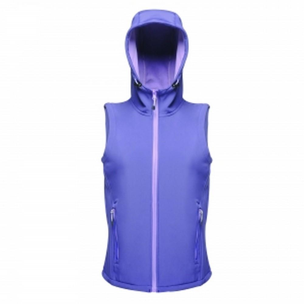 Regatta Softshellweste Professional Damen Arley Hooded Bodywarmer | Sportbekleidung > Sportwesten > Softshellwesten | Lila | Regatta
