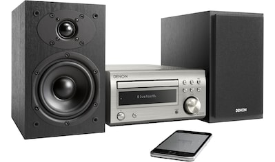 Denon Microanlage »D-M41«, (Bluetooth Digitalradio (DAB+)-FM-Tuner mit RDS 60 W), CD-Player, Bluetooth kaufen