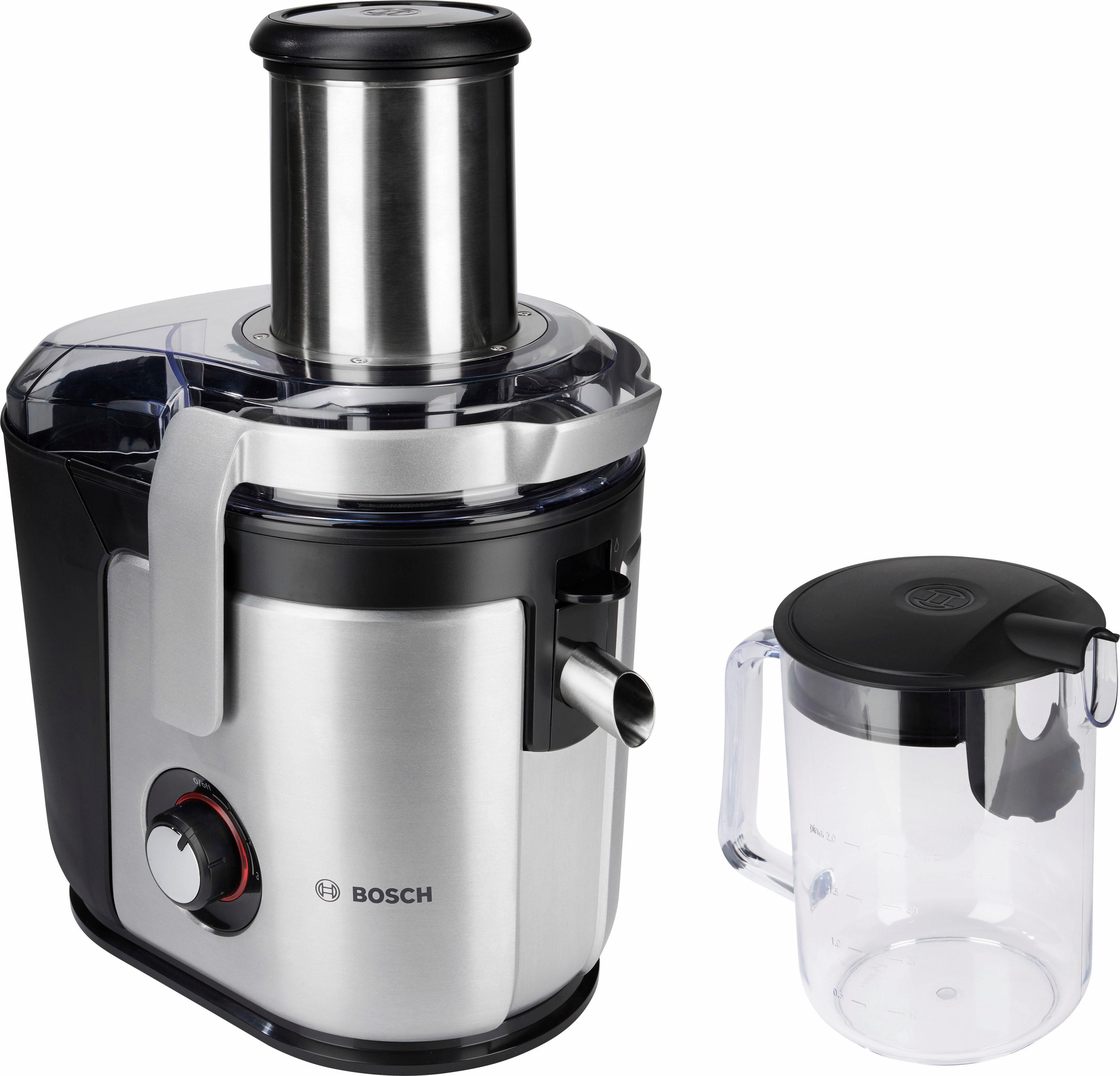 BOSCH Entsafter MES4010 1200 Watt   Küche und Esszimmer > Küchengeräte > Entsafter   Schwarz   Bosch