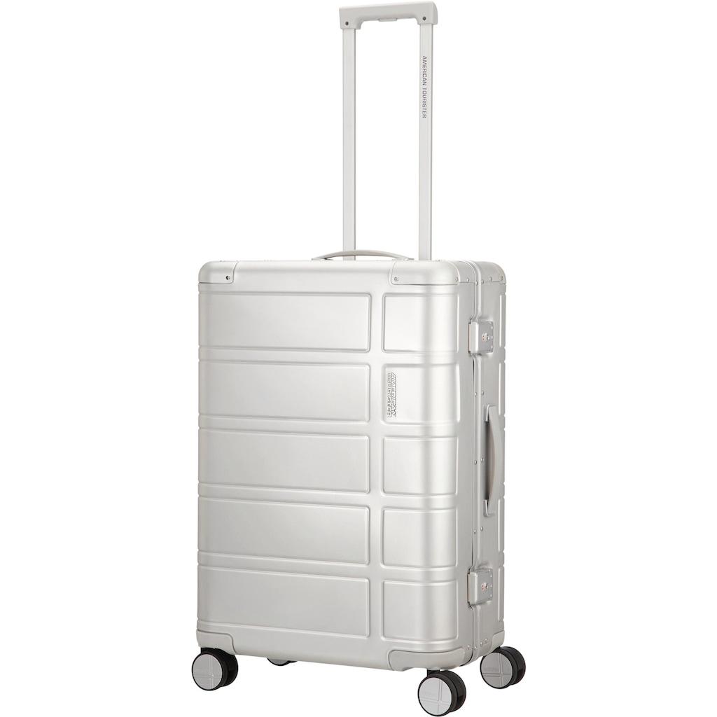 American Tourister® Hartschalen-Trolley »Alumo, 67 cm, silver«, 4 Rollen