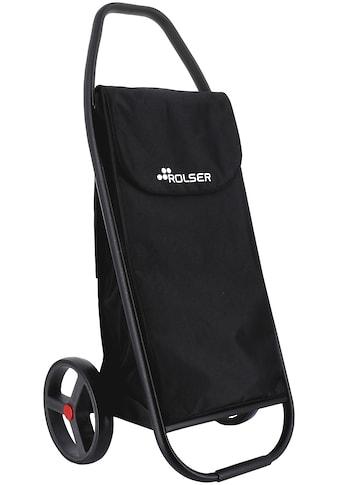 ROLSER Einkaufstrolley »8 Com MF Black Tube«, negro, Max. Tragkraft: 50 kg kaufen