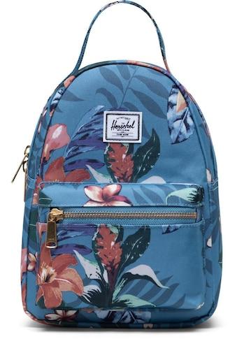 Herschel Freizeitrucksack »Nova Mini  -  Summer Floral Heaven Blue« kaufen
