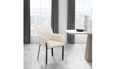 Places of Style Esszimmerstuhl »Maryland«, 2er-Set, Sitz und Rücken gepolstert, modernes Design kaufen
