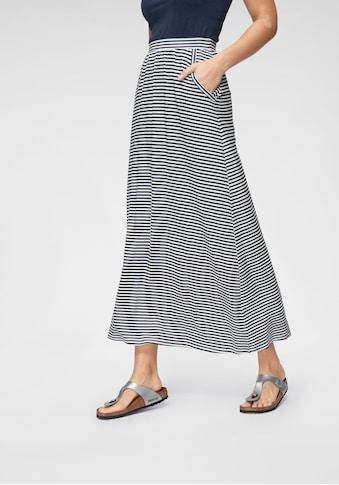 Aniston CASUAL Maxirock, im Marine Look kaufen