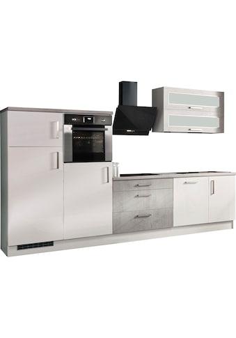 RESPEKTA Küchenzeile »Lier«, mit E-Geräten, Breite 320 cm kaufen