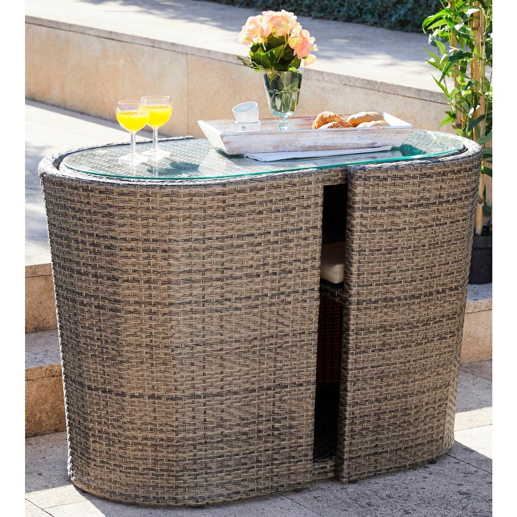 MERXX Gartenmöbelset »Ancona Wicker«