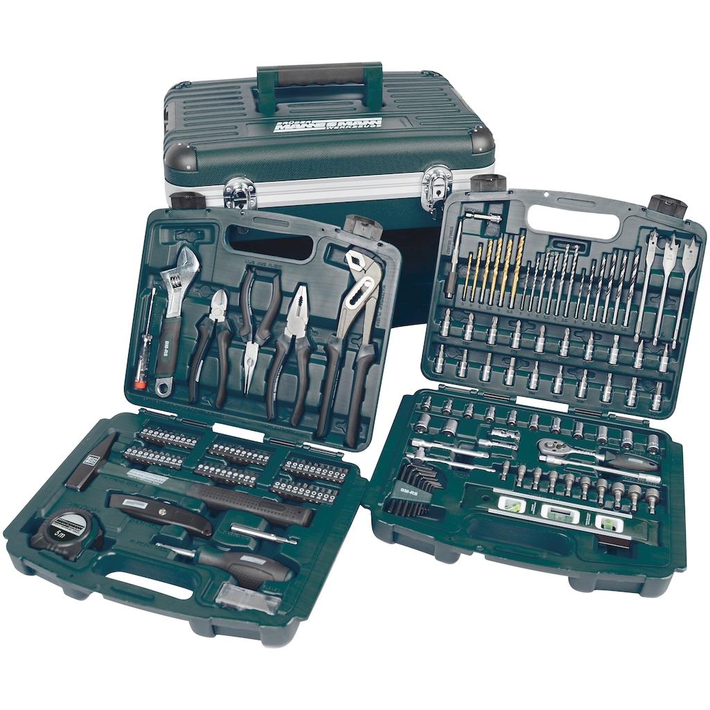 Brüder Mannesmann Werkzeuge Werkzeugset »163-tlg.«, (Set, 163 St.)