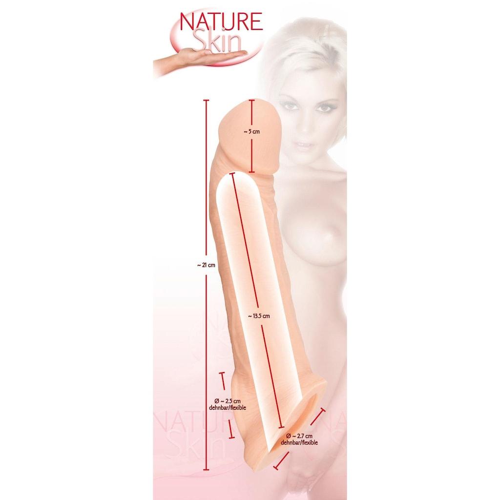 NATURE SKIN Penishülle »Penis Sleeve«, extra Öffnung für die Hoden