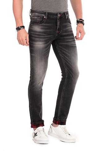 Cipo & Baxx Slim-fit-Jeans, im Used Look kaufen