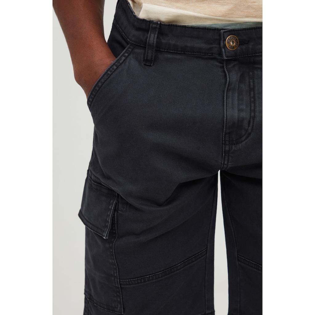 Indicode Cargoshorts »Brom«, Cargo Shorts mit Stretch-Anteil