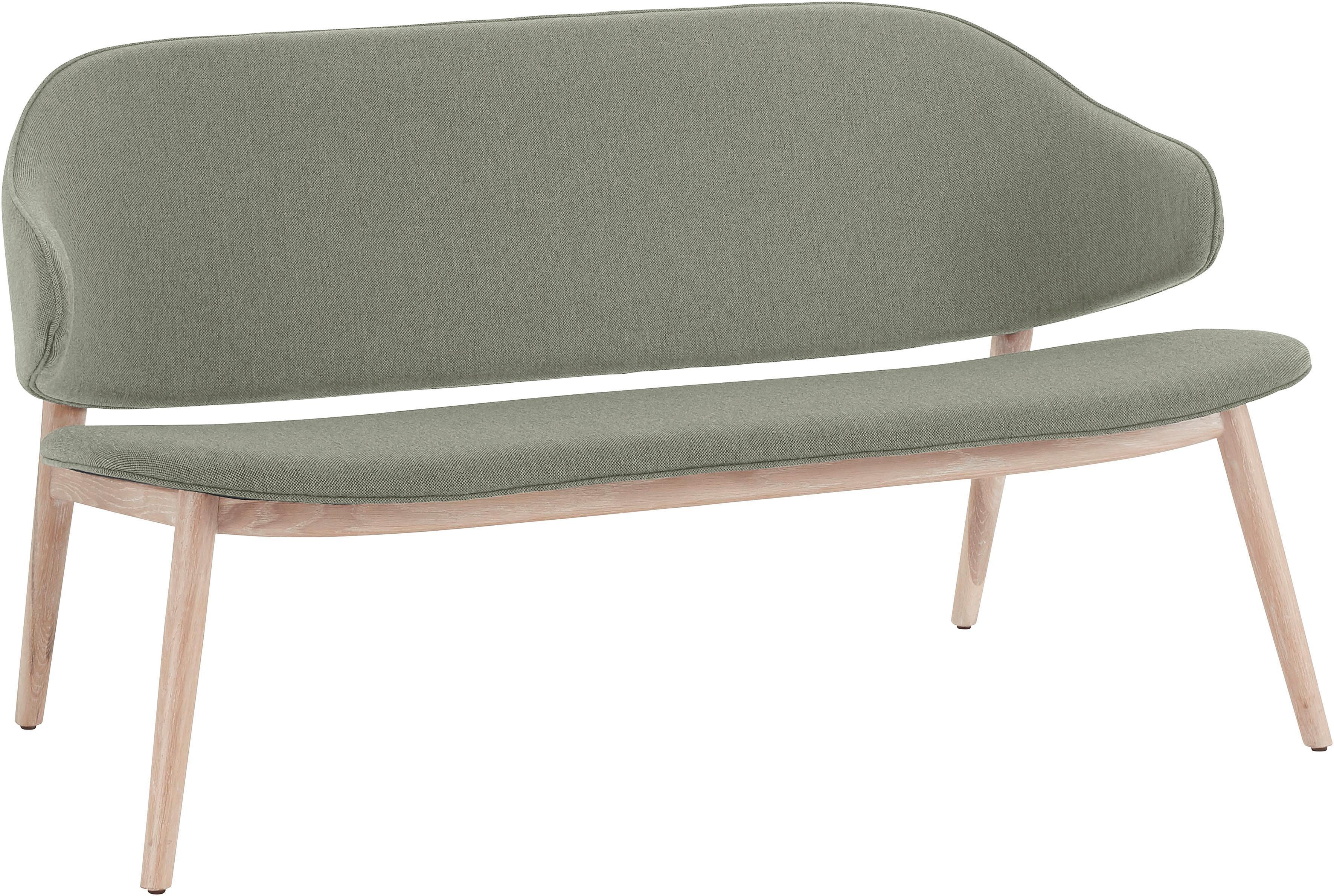 andas Sofabank Sporring mit Beingestell aus massivem Eschenholz Design by Morten Georgsen