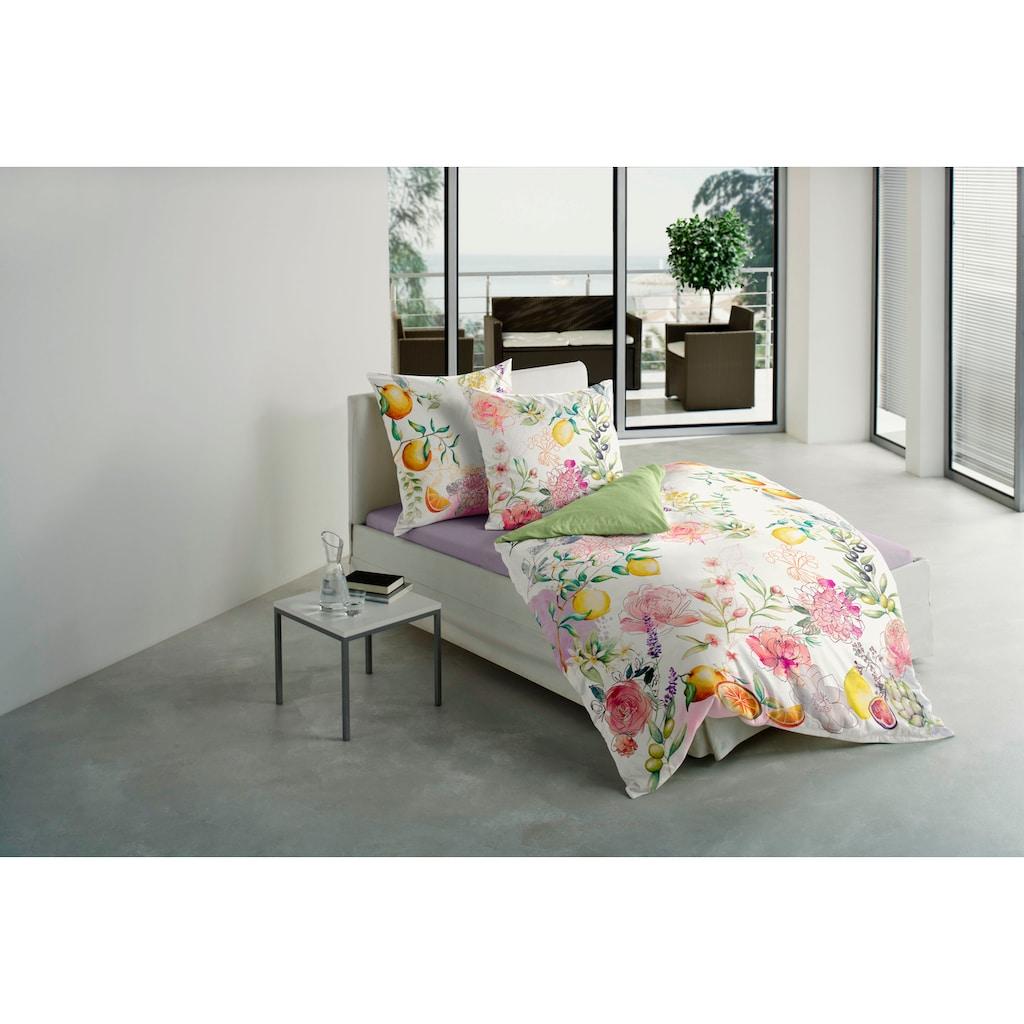 BIERBAUM Bettwäsche »Zitrus«, in frischen Farben
